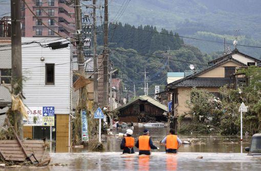 Sintflutartiger Regen fordert mehrere Menschenleben