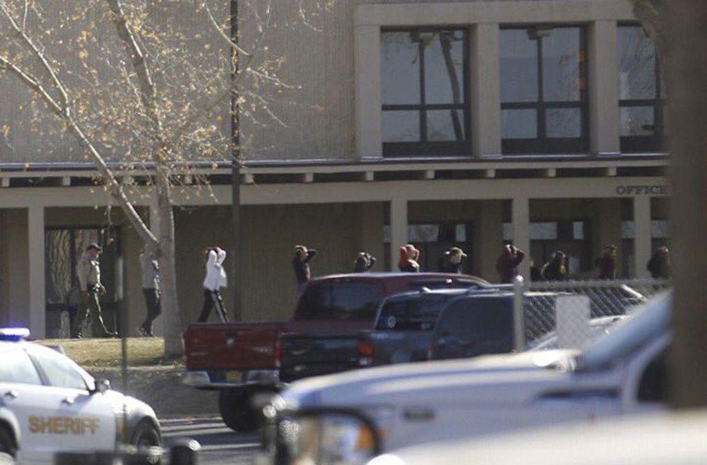 In New Mexico ist es an einer Schule zu einer Schießerei gekommen. Foto: The Daily Times