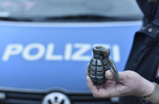 Polizei findet Handgranate bei Wohnungsdurchsuchung