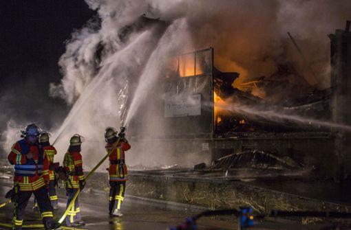 Trotz Belohnung keine Hinweise zur Brandstiftung in der Dreherei