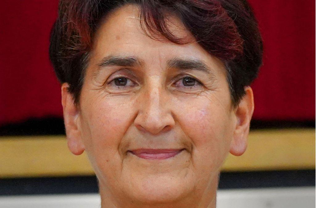 Irmtraud Wiedersatz ist die alte und neue Bürgermeisterin von Burgstetten. Foto: Edgar Layher/Edgar Layher
