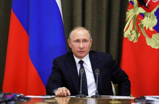 Putin will Notizen zu umstrittenem Gespräch veröffentlichen