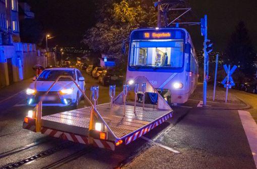 Auto kollidiert mit Zacke – Fahrgast verletzt