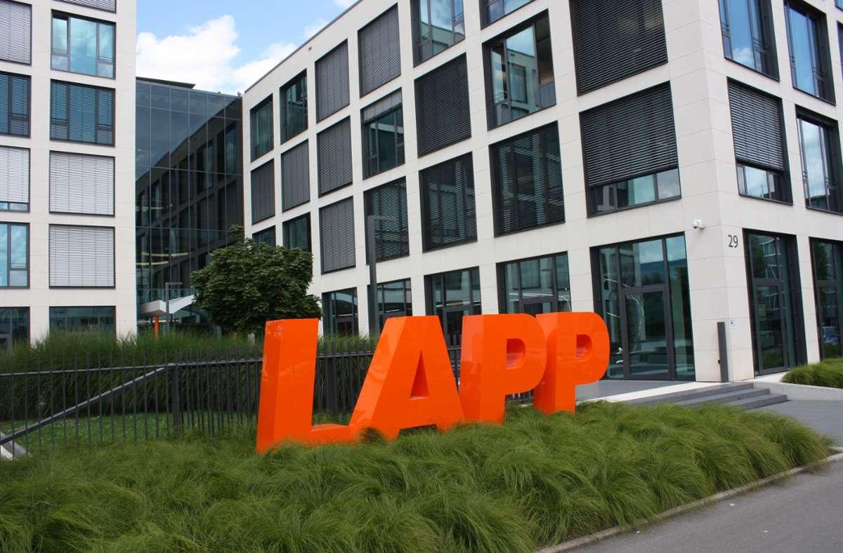 Die Lapp-Gruppe beschäftigt nach eigenen Angaben weltweit  4650 Mitarbeiter und hat 2020 einen Umsatz von 1,2 Milliarden Euro erzielt. Foto: Christoph Kutzer/Christoph Kutzer