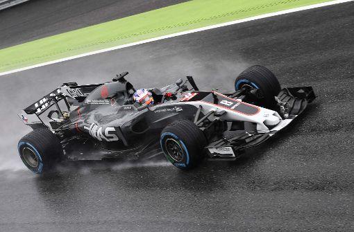 Formel-1-Qualifikation wegen Dauerregen unterbrochen
