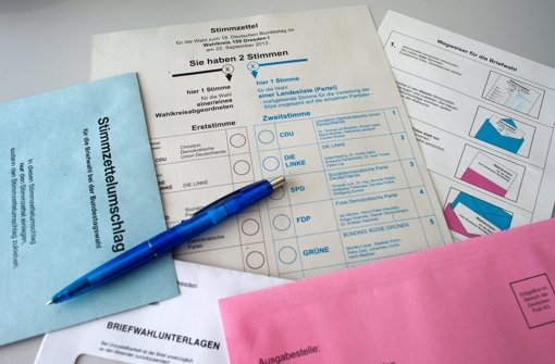 20 Parteien buhlen  um Stimmen