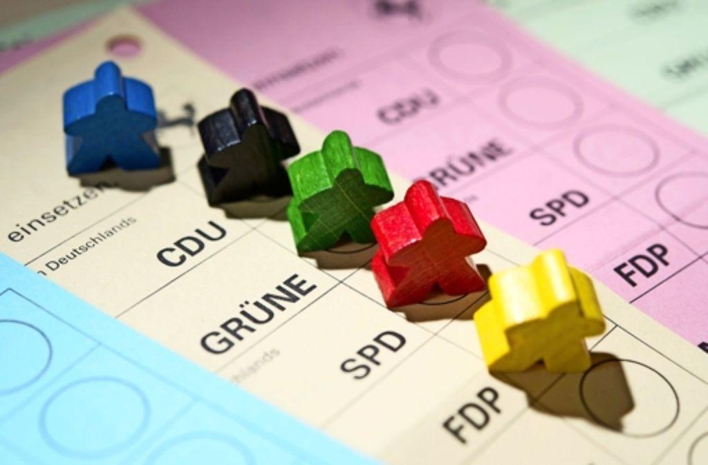 Wer nicht lesen kann, hat ein Problem mit dem Stimmzettel – Farben wären hilfreich. Foto: dpa