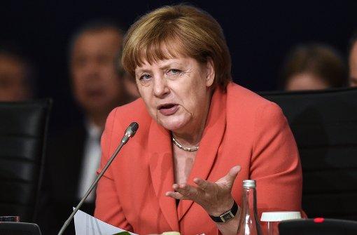 Merkel reagiert gelassen auf Erdogan-Drohung