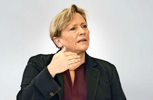 Susanne Eisenmann verteidigt Blockadehaltung Baden-Württembergs