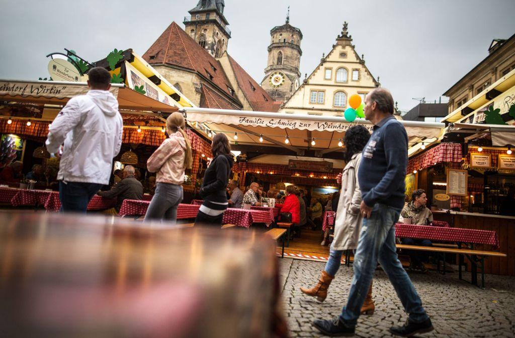 Für 2021 muss sich das Weindorf einen anderen Platz suchen. Foto: Lichtgut/Christoph Schmidt