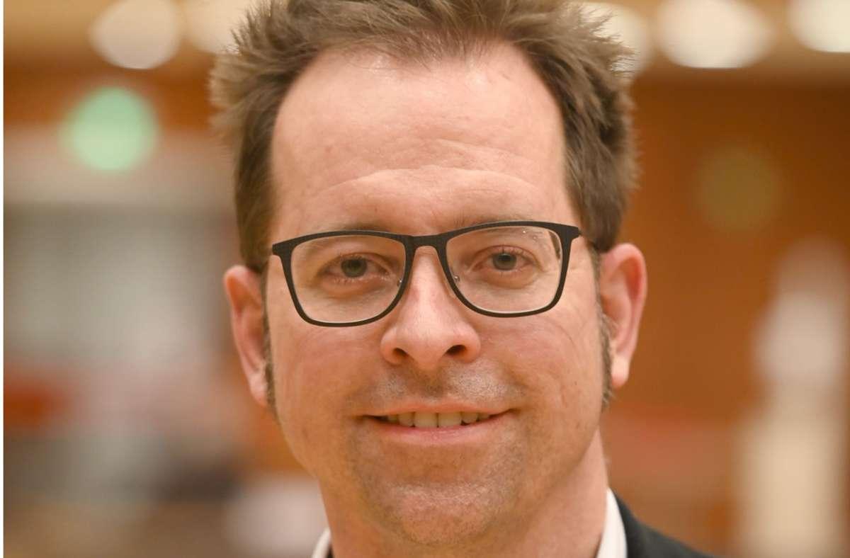 Jan Trost bleibt Chef im Marbacher Rathaus. Foto: Werner Kuhnle