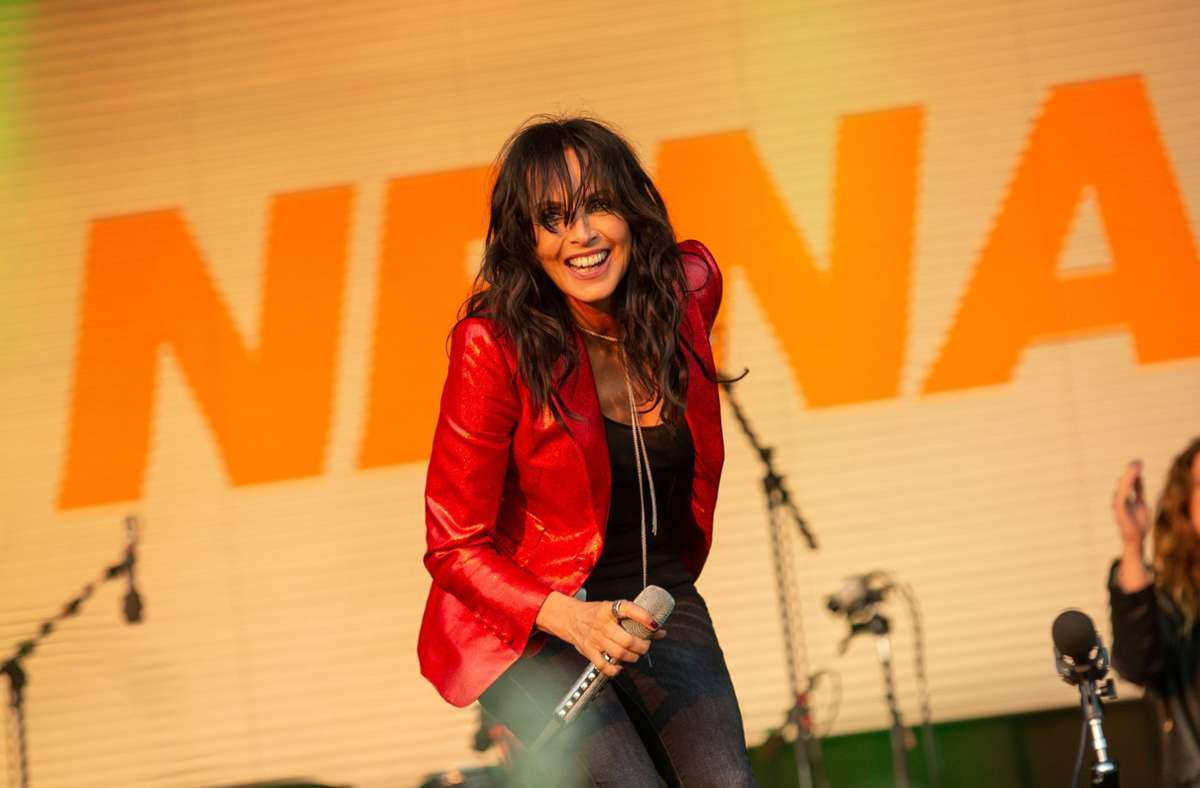 Ein Video von einem Konzert der Sängerin Nena macht momentan auf Twitter die Runde. . Foto: Lichtgut/Leif Piechowski