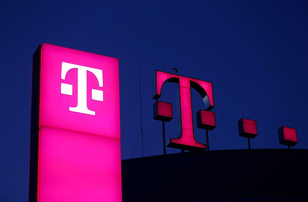 Die Telekom kann sich trotz Corona-Krise freuen. Foto: dpa/Oliver Berg