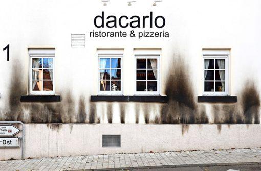 War Frust das Motiv für Anschlag auf  Gerlinger Pizzeria?