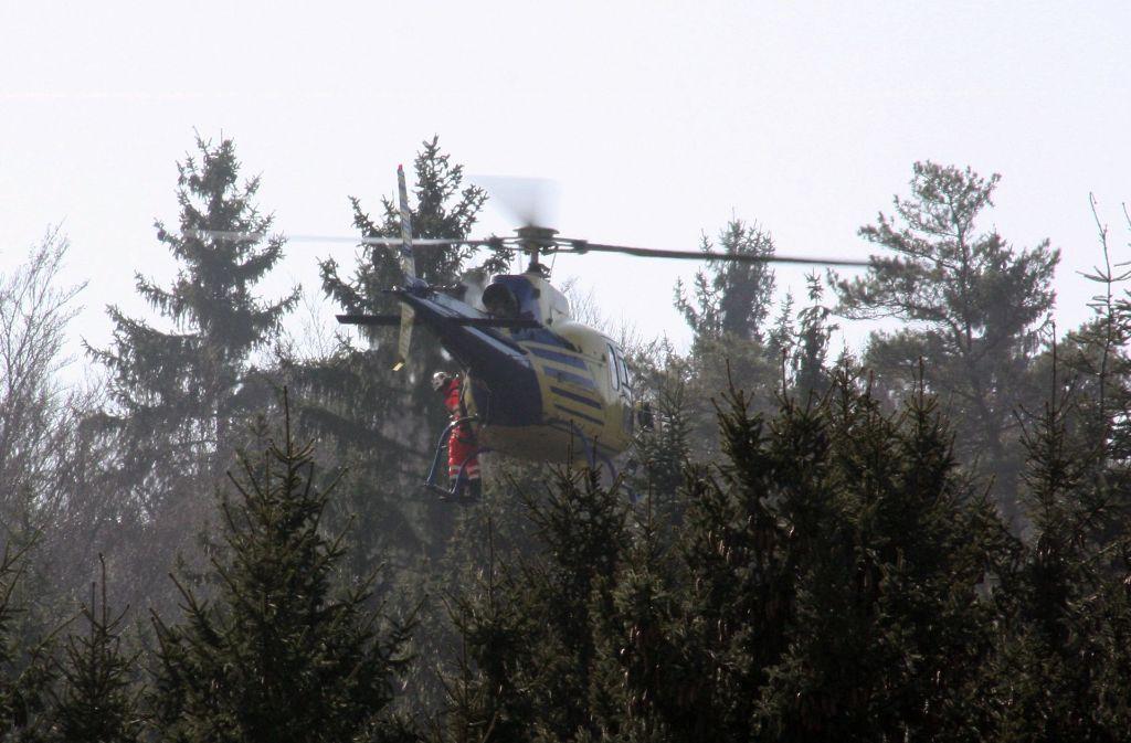 Hat der Hubschrauber den Milan vertreiben sollen? Foto: privat