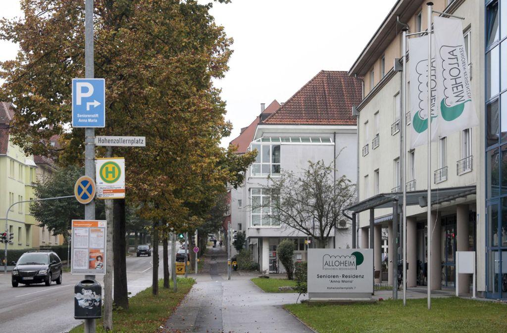 Das ehemalige Alloheim in Ludwigsburg – kein Einzelfall in Deutschland. Foto: factum/Granville