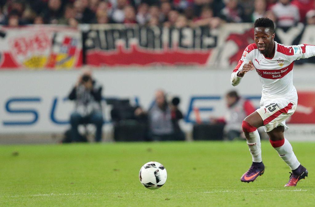 In acht Spielen hat Carlos Mané schon viermal für den VfB getroffen Foto: Baumann