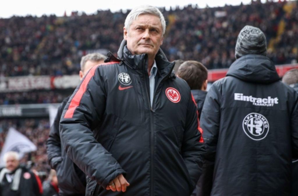 Armin Veh ist nicht länger Trainer bei Eintracht Frankfurt. Foto: Getty Images