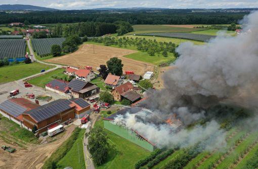 Mehrere Brände verursachen Millionenschaden
