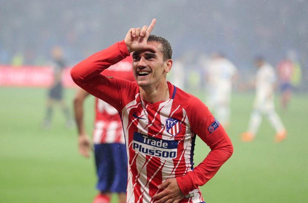 Antoine Griezmann kann sich freuen: Atlético Madrid hat dank ihm den Titel geholt. Foto: dpa