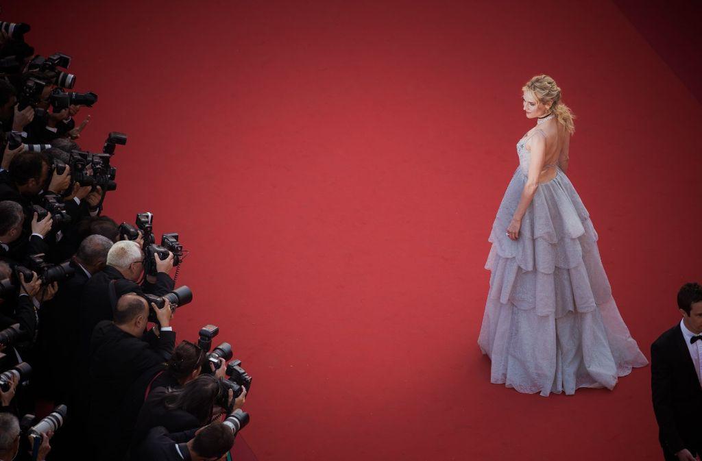Schauspielerin Diane Kruger präsentiert sich den Fotografen. Foto: Getty Images Europe