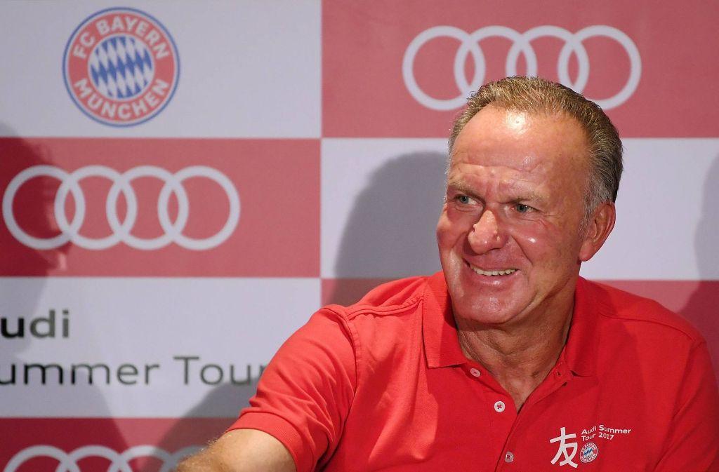Karl-Heinz Rummenigge prägt die Personalpolitik beim FC Bayern. Foto: imago