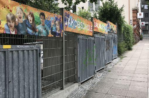 Sorge um die Kinder  der Jakobschule   wächst