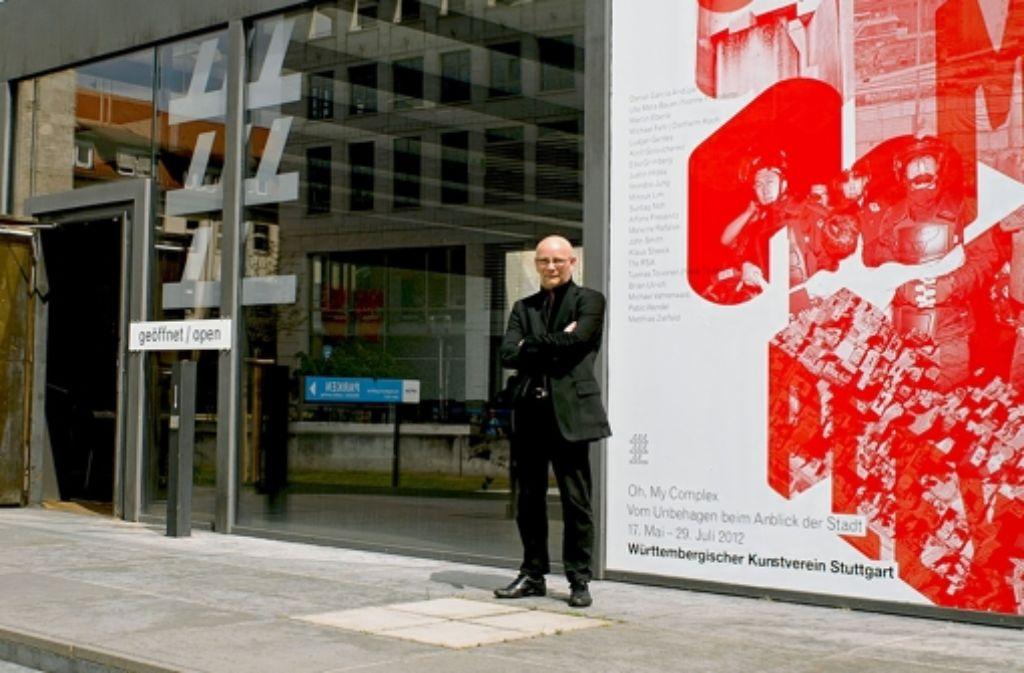 Direktor Hans D. Christ ist stolz auf den Württembergischen Kunstverein. Hier darf er auch einmal ein riskantes Programm machen. Foto: privat