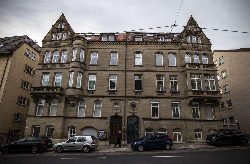 Die Reinsburgstraße 167:  Wird hier Wohnraum  zweckentfremdet? Foto: Lichtgut/Leif Piechowski