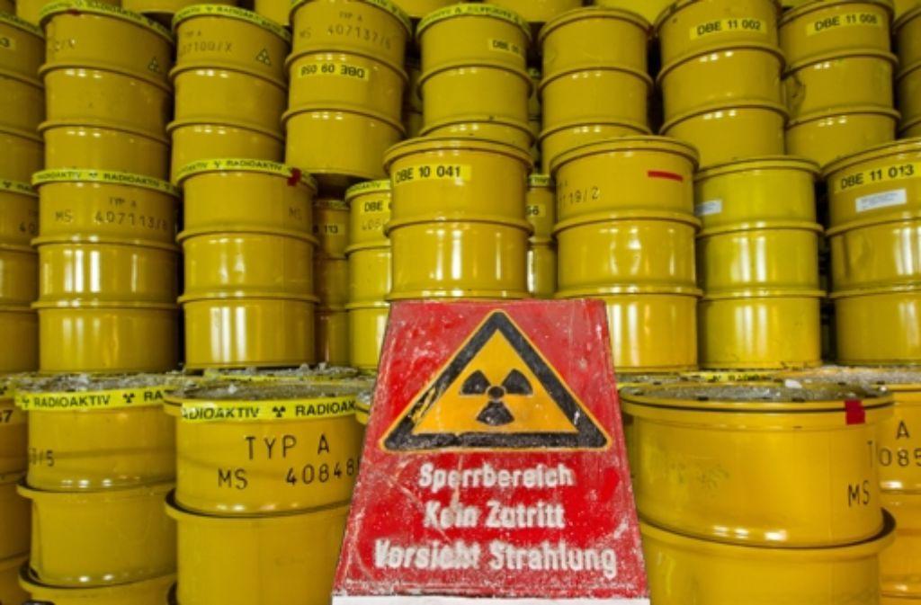 Die ewig schwere Frage: Wo soll der Atommüll  am Ende landen? Foto: dpa-Zentralbild