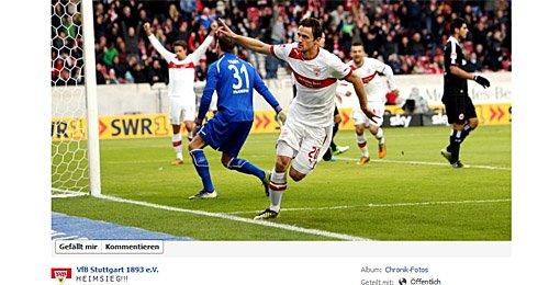 VfB: Große Erleichterung auf Facebook