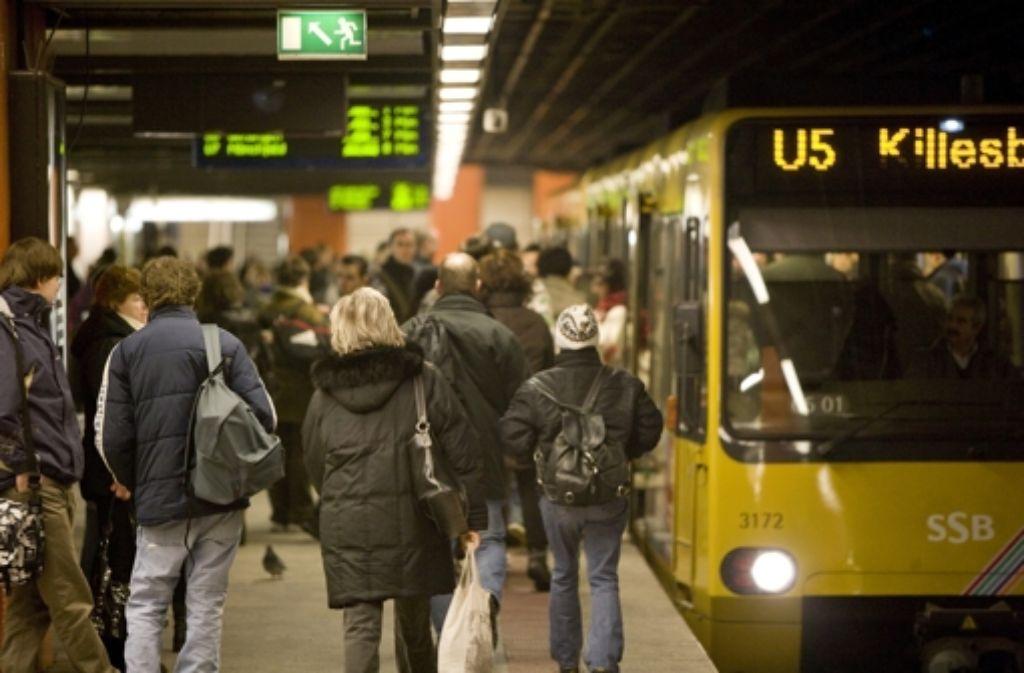Auch im Bürgerhaushalt steht nun die Forderung, die U5 am Killesberg wieder häufiger fahren zu lassen. Foto: Archiv