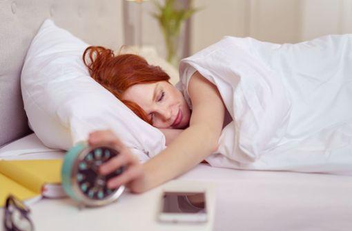 Blaufilter für besseren Schlaf