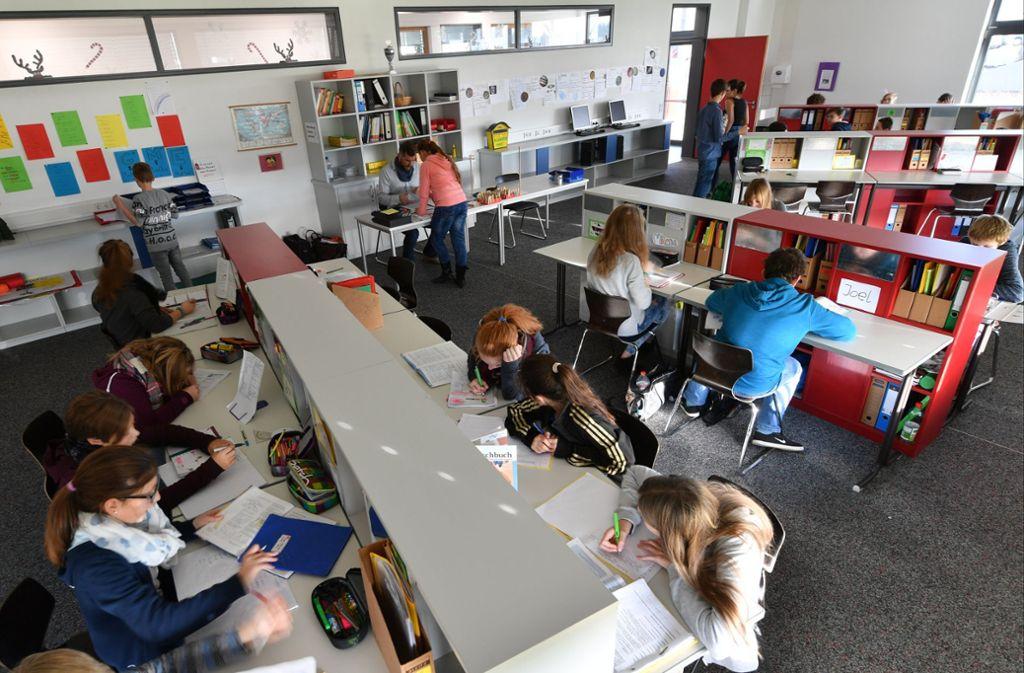 An den Gemeinschaftsschulen wird auf gemeinsames Lernen Wert gelegt. Foto: dpa