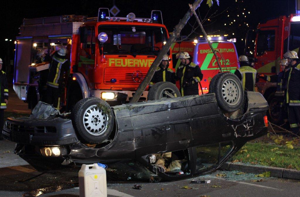 Fünf Menschen wurden bei dem Unfall verletzt. Foto: www.7aktuell.de | Christian Schlienz