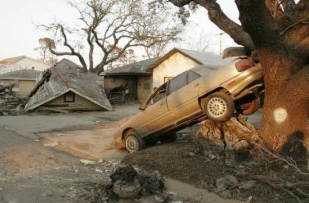 Auch 17 Monate nach Hurrikan Katrina sieht Sara Grans New Orleans noch immer frisch verwüstet aus. Foto: dpa