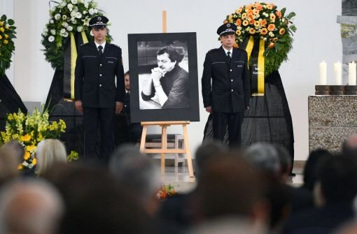 Bewegende Trauerfeier für Polizeichef Thomas Züfle