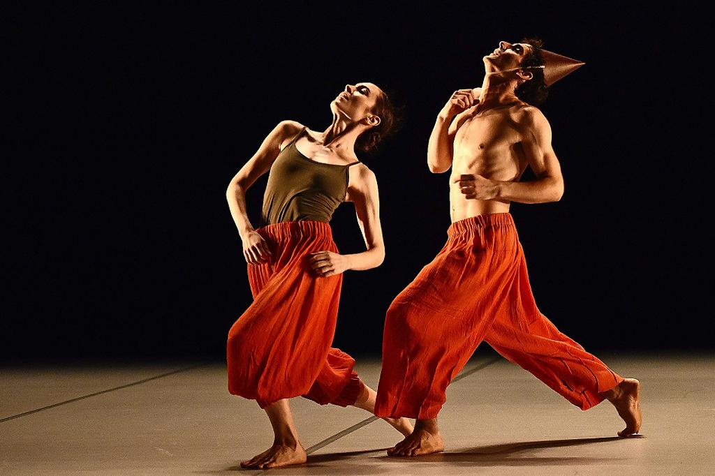 """Nora Brown und Maurus Gauthier tanzen bei """"Classy Classics"""" – am 15., 16. Und 17. November im Theaterhaus Stuttgart.  Foto: Regina Brocke"""