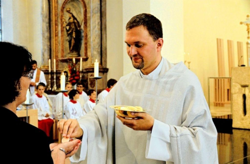 Kilian Krug – der einzige Neupriester in ganz Württemberg in diesem Jahr. Foto: dpa