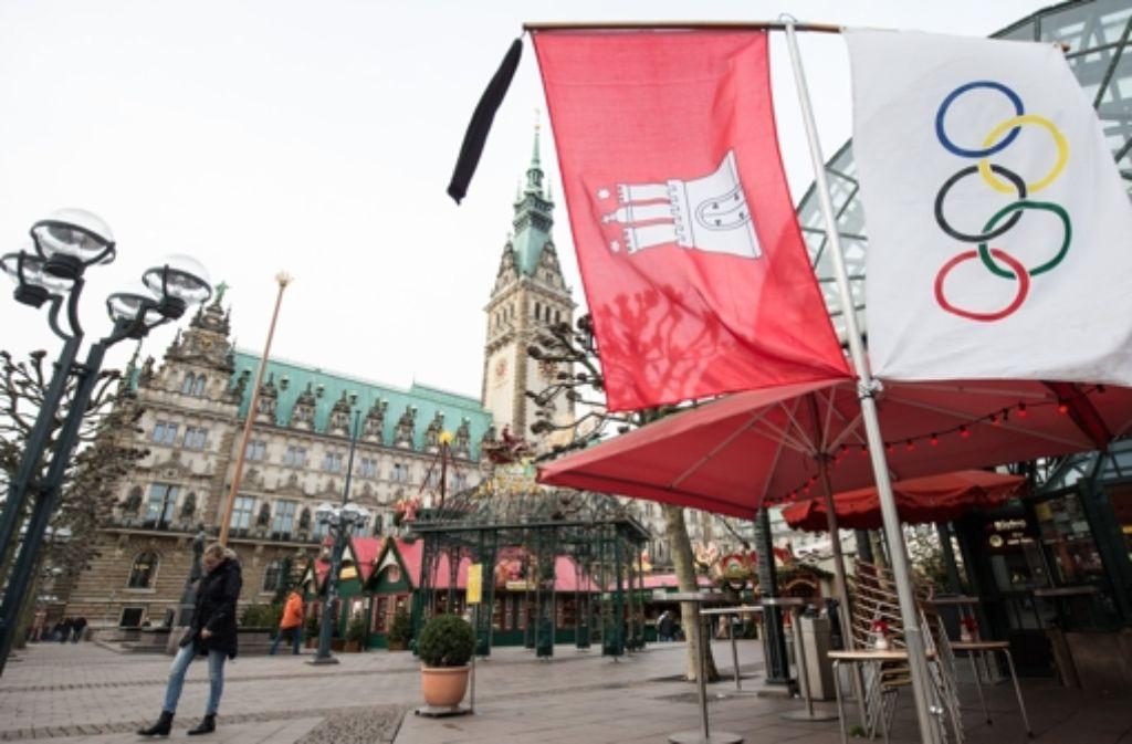 Aus der Traum von den Olympischen Spielen: Die Hamburger wollen nicht. Foto: dpa