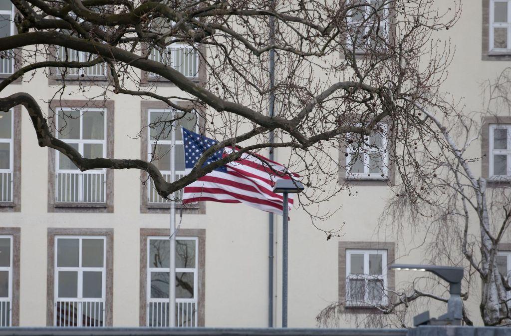 Laut Wikileaks war das US-Konsulat in Frankfurt ein Ausgangspunkt für Spionageaktionen des CIA Foto: dpa
