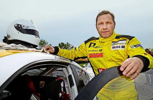 Tatort Nürburgring: Richy Müller gibt Gas