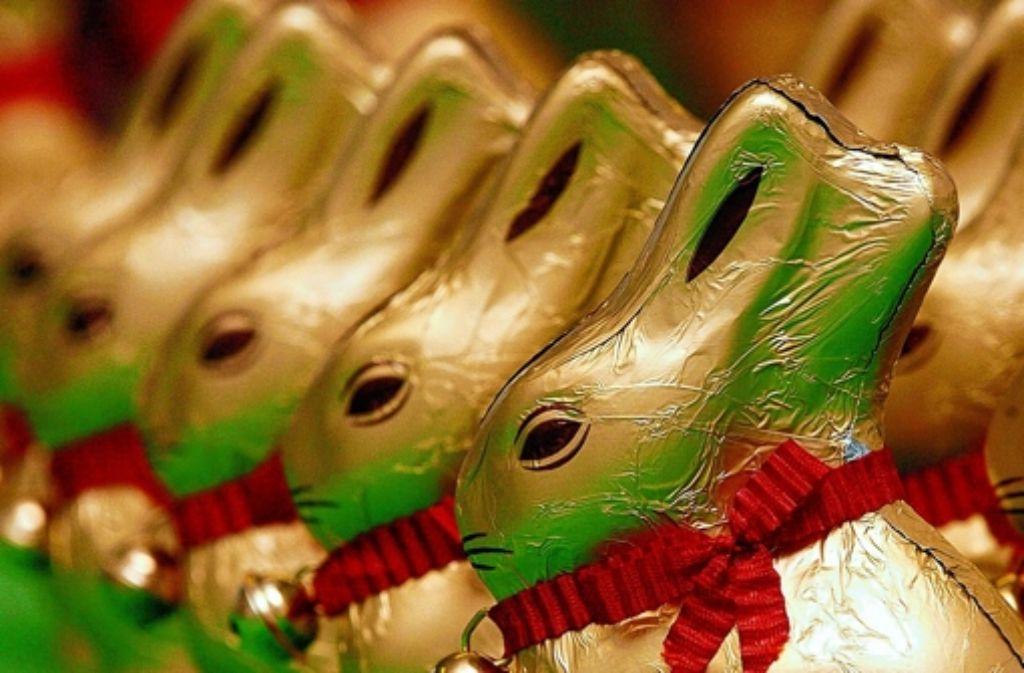 Man sagt ja, dass Schokolade die Nerven beruhige – aber  gibt es überhaupt genug Süßkram, um die geplagte  S-Bahn-Klientel dauerhaft milde zu stimmen? Foto: dpa