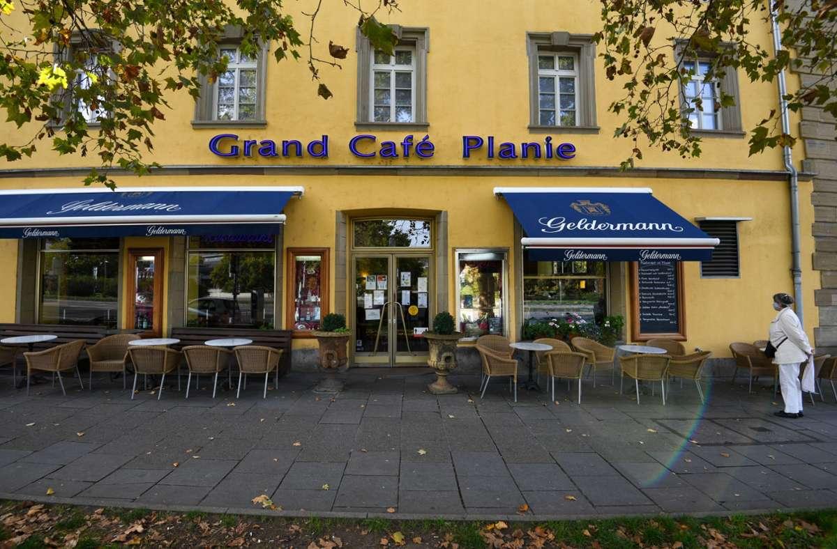 Wann das Grand Café Planie öffnen kann, ist weiterhin unklar. Foto: Lichtgut/Leif Piechowski