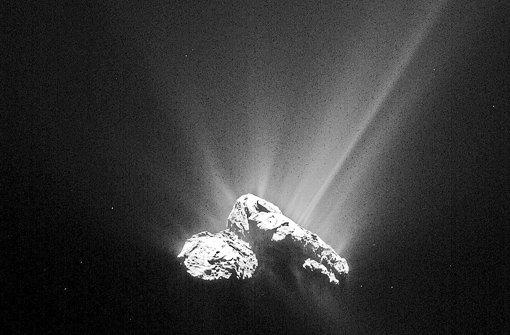Komet Tschuri am sonnennächsten Punkt seines Orbits