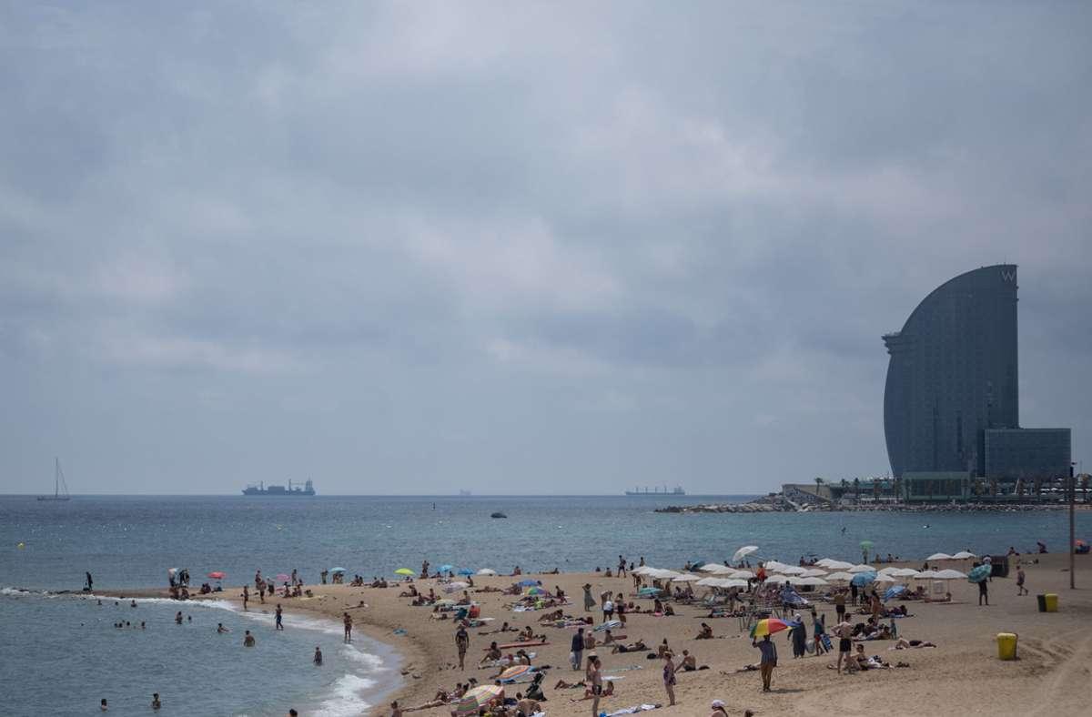 Die Region Katalonien – und damit auch Barcelona – gehört aktuell zu einem Corona-Risikogebiet. Foto: dpa/Thiago Prudencio