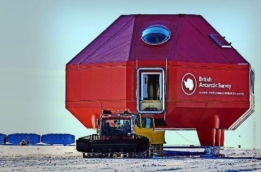 Umzug am Südpol
