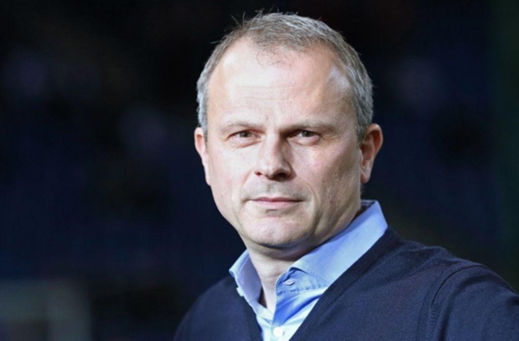 Jochen Schneider verlässt den VfB Stuttgart Foto: Baumann