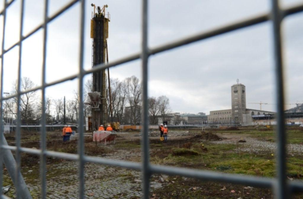 Der Bahn drohen weitere Zeitverzögerungen beim Bau von Stuttgart-21. Foto: dpa