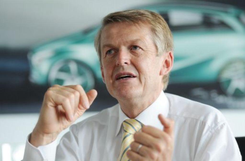 Daimler-Vorstand Weber wertet die Allianzen mit anderen Unternehmen bei grüner Technik nicht als Risiko, sondern als Chance. Foto: dpa